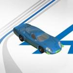 modélisation 3D de l'alpine A220